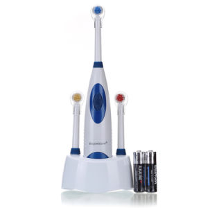 RoHS/FDA Approved Sonicare Battery Operated Toothbrushs Adult Toothbrush Electric Toothbrush with 2-Pack Brushhead Wy839-C pictures & photos