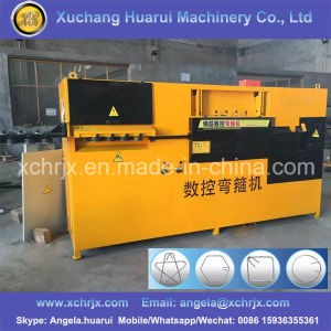 CNC Automatic Rebar Stirrup Bending Machine, CNC Wire Bending Machines, Automatic Wire Bending Machine pictures & photos