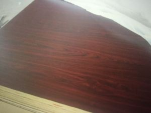 Furniture Grade E1 Glue Solid Wood Grain Color MDF Board pictures & photos
