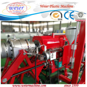HDPE LDPE PE Plastic Pipe Extruding Machinery Production Line pictures & photos