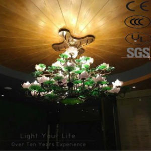 Antique Project Hotel Energy Saving Flower Galss Chandelier pictures & photos