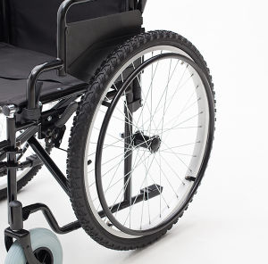 Steel Manual, Mountain Tires, Wheelchair, Folding, (YJ-005H) pictures & photos
