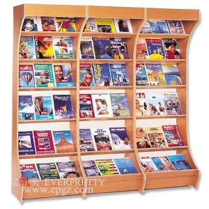School Library Furniture Book Case Steel Wooden Bookshelf pictures & photos