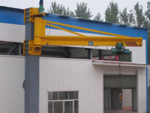 Bx-1 Type Wall Column Jib Crane with 180 Degree pictures & photos