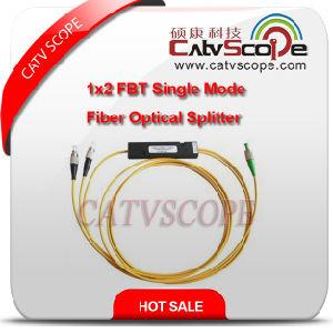 1X2 Fbt Single Mode Fiber Optical Splitter