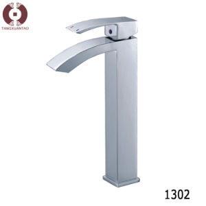 Single Hole Hardware Bathroom Accessories Basin Faucet Tap (1302) pictures & photos