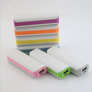 New 2600mAh Universal Portable Power Bank with RoHS pictures & photos