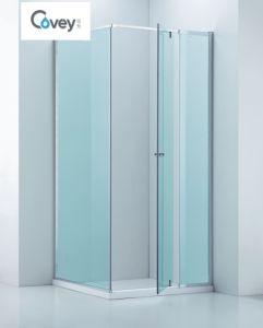 Adjustable Bathroom Shower Enclosure/Square Semi-Frameless Shower Cabin (CVP025-1) pictures & photos