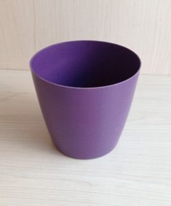 Recycled Bamboo Fiber Flower Pot (BC-F1015) pictures & photos
