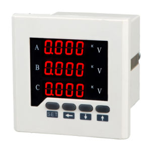 Three Phase LED AC Digital Voltmeter pictures & photos