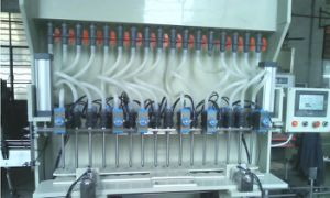 Fully Automatic Liner Corrosive Product PVC PP Plastic Filling Machine Production Plant pictures & photos