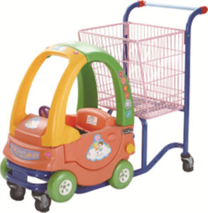 Hot Style Children Shopping Trolley/Children Shopping Cart for Supermarket pictures & photos