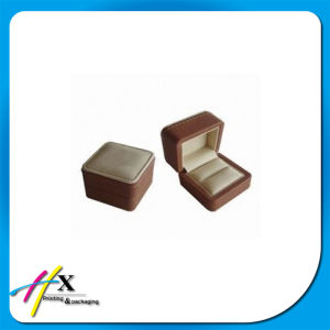 Brown Paper Jewelry Ring Display Custom Box with Logo pictures & photos