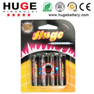 1.5V AA PVC Jacket Carbon Zinc Battery (UM-3/R6P) pictures & photos