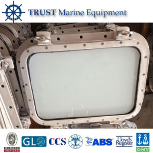 Ship A60 Welded Fireproof Rectangular Glass Window pictures & photos