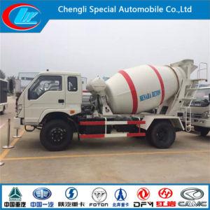 Small Cheap 6 Wheels 4cbm Concrete Mixer Truck pictures & photos