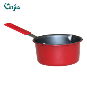 Home Basic Classic Red Nonstick Saucepan Induction Bottom pictures & photos