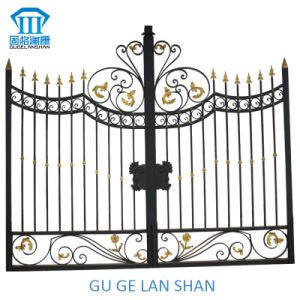 High Quality Crafted Wrought Iron Gate 047 pictures & photos