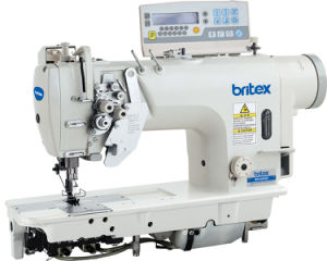 Br-8452D Electronic High Speed Double Needle Lockstitch Sewing Machine pictures & photos