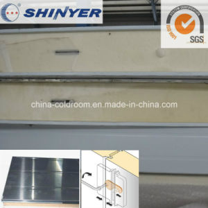 150mm Polyurethane PU Sandwich Panel with 0.8mm Stainless Steel Plate pictures & photos