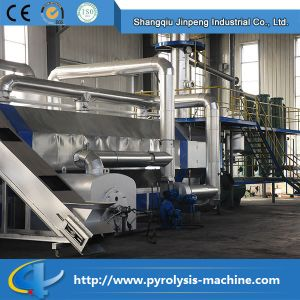 Fully Automatic and Safety Waste Tire Recycling to Oil Production Line pictures & photos