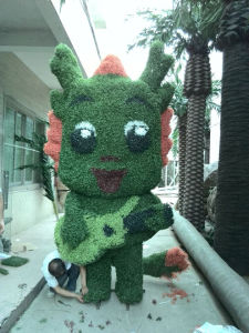 Customized Artificial Topiary Grass Plant for Decoration pictures & photos