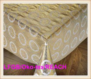 Vinyl Plastic Lace Tablecloth Rolls pictures & photos