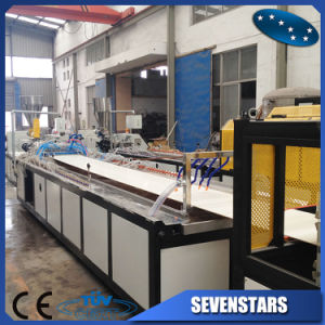 PVC Ceiling Board Extrusion Machines / Line / Plant pictures & photos