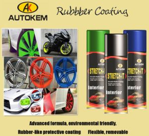 Paint Wrap, Spray on and Peel off, Multi-Purpose Rubber Coating pictures & photos
