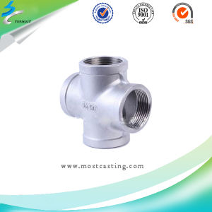 Stainless Steel Investment Casting Valve Pipe Connector pictures & photos