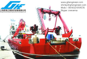 Electrical Hydraulic a Frame Deck Crane Expediture Ship pictures & photos