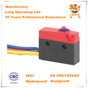 Lema Kw12f-0c Waterproof IP67 Micro Switch pictures & photos