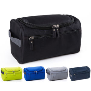 Waterproof Men Hanging Makeup Bag Nylon Travel Organizer Cosmetic Bag for Women Large Necessaries Make up Case Wash Toiletry Bag pictures & photos