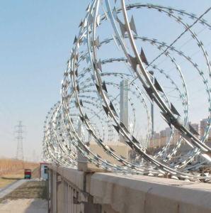 Cross Type Razor Barbed Wire pictures & photos