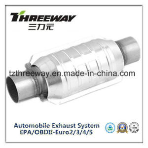 Car Exhaust System Three-Way Catalytic Converter #Twcat023 pictures & photos