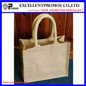 Eco-Friendly Logo Customized Promotional Jute Bag (EP-B581707) pictures & photos