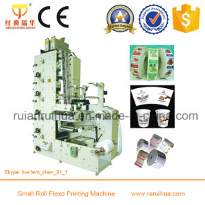 High Registration Precision Paper Label Sticker Printing Machine pictures & photos