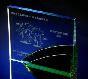 Green Crystal Trophyengraving Character pictures & photos