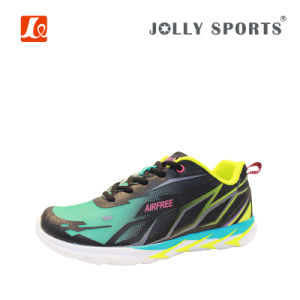 Fashion Design Footwear Breathable Sports Running Shoes for Men pictures & photos