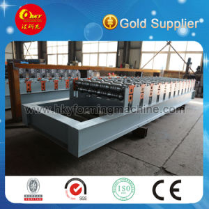 Metal Profile Glazed Roof Tile Roll Forming Machine pictures & photos