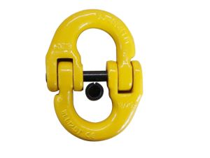 Yellow High Quality Grade 80 Alloy Steel Connecting Link pictures & photos