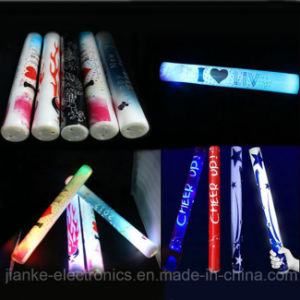 LED Foam Flashing Light Stick with Logo Print (4016) pictures & photos
