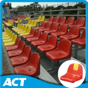 Outdoor Portable Metal Bleachers Seating with Plastic Seat pictures & photos