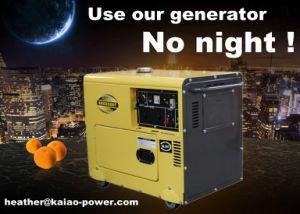 Air Cooled Diesel Generator 5kw Generator Diesel Sale Price (CE, BV, ISO9001) pictures & photos