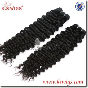Unprocessed Curly Intact Virgin Peruvian Hair, 100 Human Hair Weave Brands Peruvian Virgin Hair pictures & photos