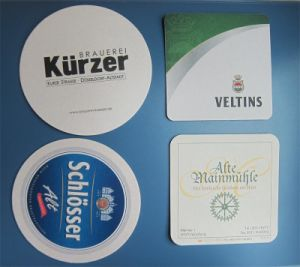 Customized Eco-Friendly 3D PVC/EVA/Fibeboard Cork Paper Square Round Coaster Cup Coaster for Promotion (FH-C-001) pictures & photos