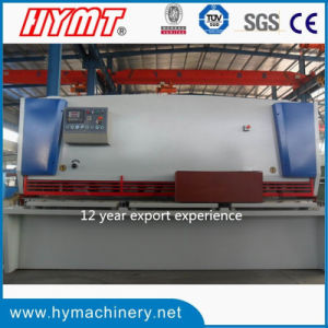 QC11Y-12X2500 hydraulic type guillotine shearing cutting machine pictures & photos