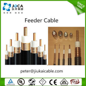 China Custom Flexible Foam Dielectric RF Feeder Cable pictures & photos