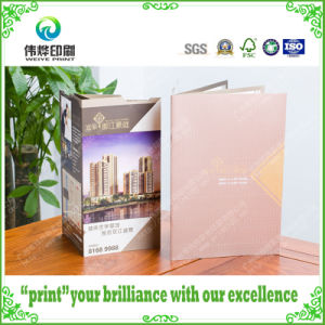 Hot Stamping Folded Leaflet Catalogue Printing (for Real Estate) pictures & photos