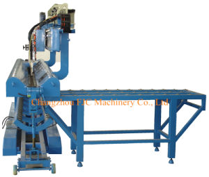 Automic Steel Drum Fish Scale Longitudinal Seam Welding Machine pictures & photos